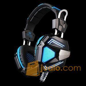 Gaming Headset Kotion Each G-5200 HS Head Set Terbaik U/ Pro Gamer (9962325) di Kota Jakarta Barat