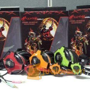 Gaming Head Set WarWolf T-6 / T6 Hs Headset Termurah u/ Warnet (9962467) di Kota Jakarta Barat