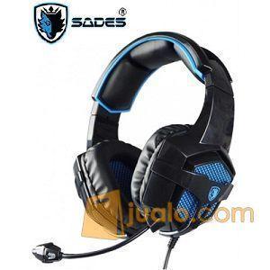 Gaming Head Set Sades SA-739 B POWER Headset HS Terbaik U/ Pro Gamer (9962505) di Kota Jakarta Barat
