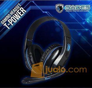 HeadSet Sades Tpower SA701 SA 701 HS Gaming Head set Murah Pro Gamer (9962891) di Kota Jakarta Barat
