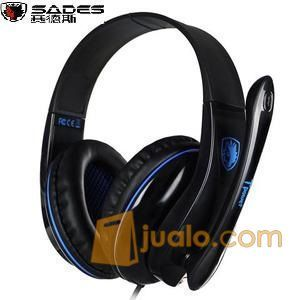 HeadSet Sades Tpower SA701 SA 701 HS Gaming Head set Murah Pro Gamer (9962893) di Kota Jakarta Barat