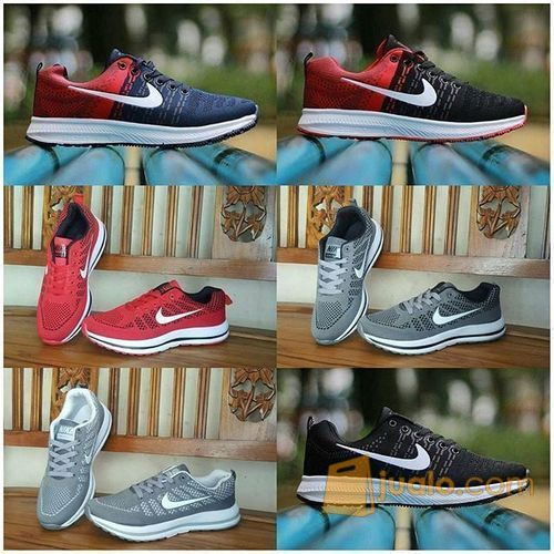 Sepatu Nike free Zoom Cowok Cowo Men Man Pria Freerun Running 5 Import