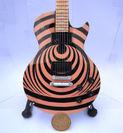 Miniatur Gitar Gibson Les Paul Zakk Wylde Vertigo (1138030) di Kab. Madiun