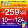 Firstmedia Internet WIFI & TV Chanel (22179107) di Kota Tangerang