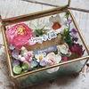 Kotak Cincin Pernikahan Glassbox Segi Empat (22711423) di Kota Surabaya