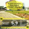 Tanah Kavling Murah Investasi Menguntungkan Dekat Tol Cibubur (23151655) di Kota Bekasi