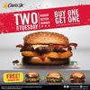 CARLS JR Promo TWO for TUESDAY (24111635) di Kota Jakarta Selatan