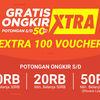 Shopee Promo #BelanjaDariRumah Ekstra 100 Voucher Gratis Ongkir (24126171) di Kota Jakarta Selatan