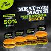 Burger Bangor Diskon 50% Grabfood (25460503) di Kota Jakarta Selatan