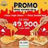 Mastercheese Pizza Promo Hemat 49.900 (25568263) di Kota Jakarta Selatan