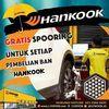 1 Station Free Spooring Setiap Pembelian Ban Hankook (26413067) di Kota Jakarta Selatan
