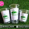 Sablon Cup Plastik 22 Oz Polycup , 16 Oz 7 Gram Dan 12 Oz 5 Gram (Aneka Kemasan Minuman Kekinian) (27629215) di Kota Malang