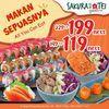 Sakura Tei All You Can Eat Promo (28119787) di Kota Jakarta Selatan