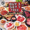 Gyu-Kaku Buy 3 Get 1 Free Premium Buffet (28879739) di Kota Jakarta Selatan