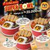 HokBen Promo Super Bowl Hanya Rp 35.000 nett! (29078812) di Kota Jakarta Selatan