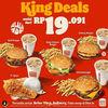 Burger King Promo King Deals (29730117) di Kota Jakarta Selatan
