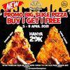 Mastercheese Pizza SERBU PROMO BUY 1 GET 1 !! (29866604) di Kota Jakarta Selatan