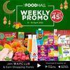 THE FOOD HALL Weekly Promo! UP TO 45 % (29912390) di Kota Jakarta Selatan