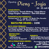 OPENTRIP DIENG JOGJA 24 - 25 JULI 2021 (30089431) di Kab. Sidoarjo