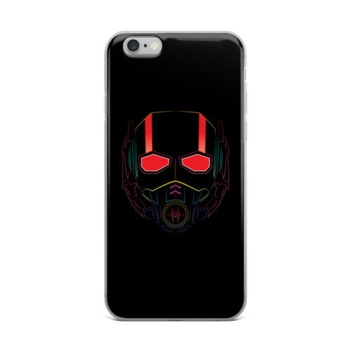 antman mask black mobile cover