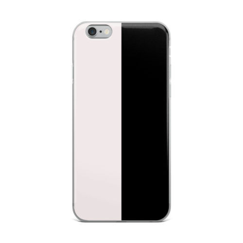 black and white mobile cover