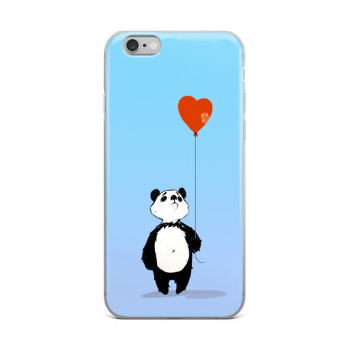 broken panda mobile cover