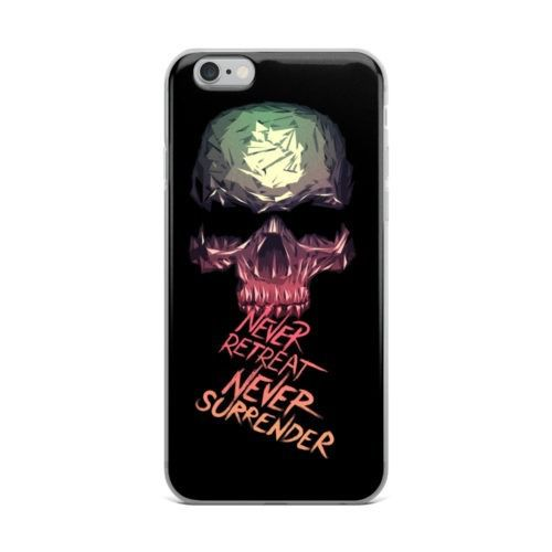never repeat never surrender mobile cover
