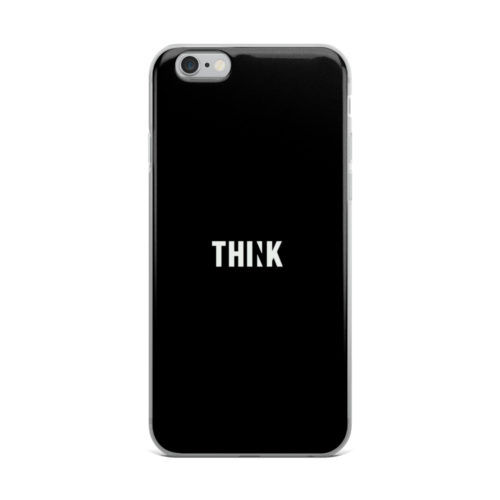 think minimal mobile cover