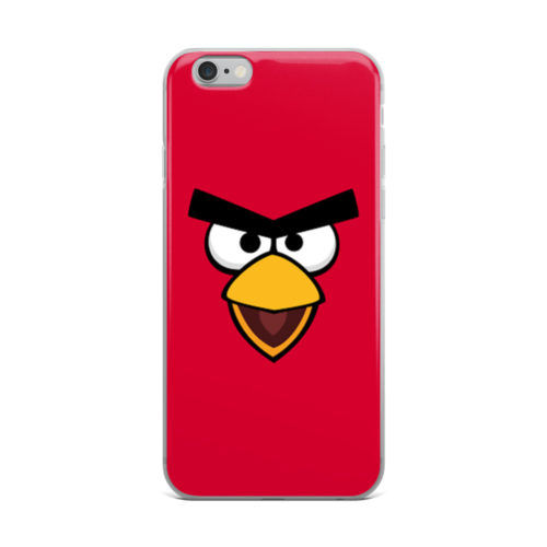 angry bird red mobile cover