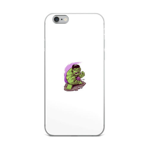 angry hulk minimal art mobile cover