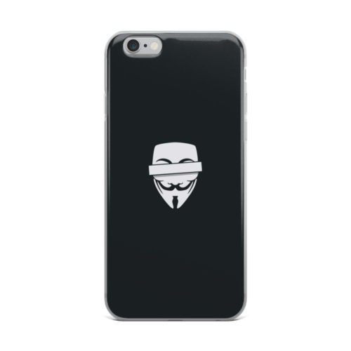 anonymous mask mobile cover