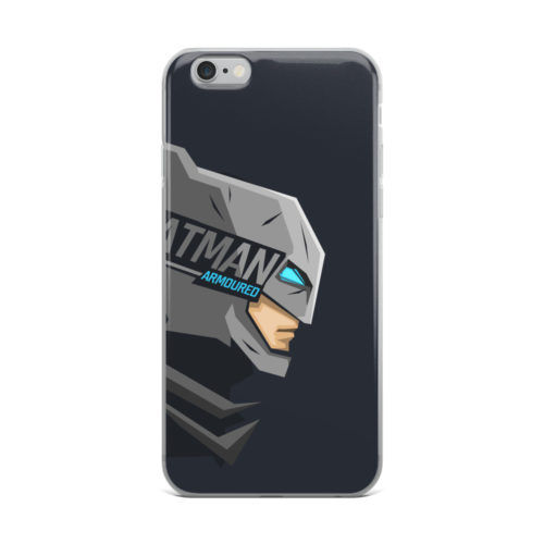 batman popout head minimal mobile cover
