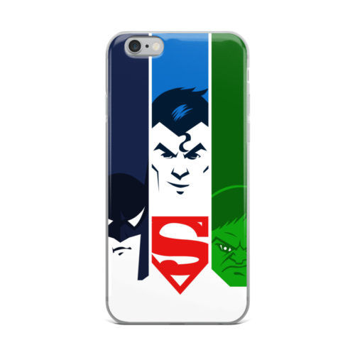 batman superman hulk artwork mobile cover