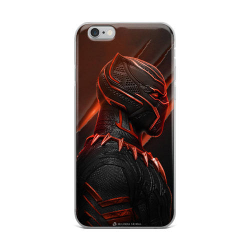 black panther red suit mobile cover