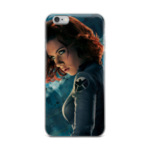 black widow avangers mobile cover