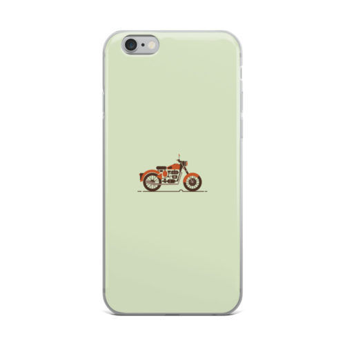 bullet bike minimal mobile cover