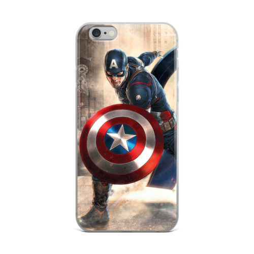 captain america avengers artwork mobile cover