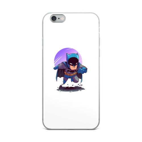 classic minimal batman art mobile cover