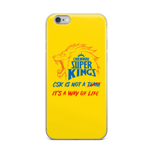 csk is way of life mobile cover