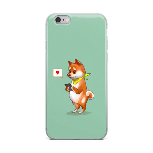 cute animal texting mobile cover