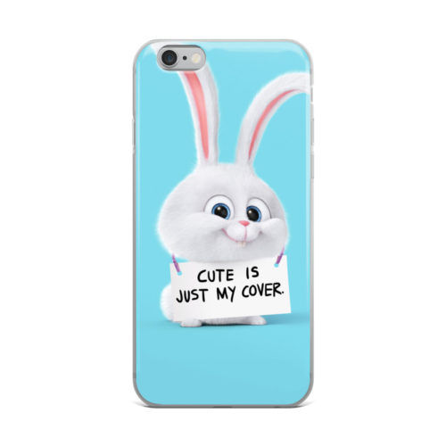 cute is just my cover mobile cover