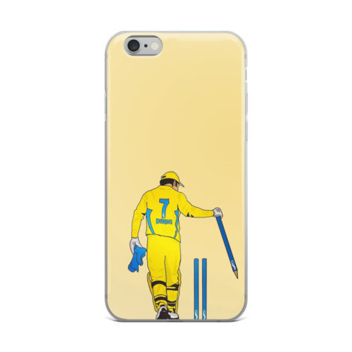 dhoni stumping artwork mobile cover