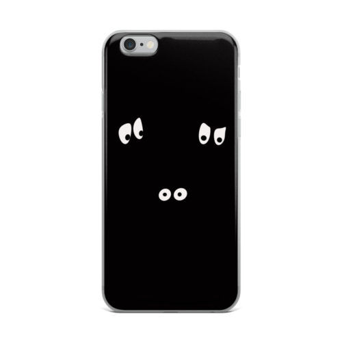 dont look at me illustration mobile cover
