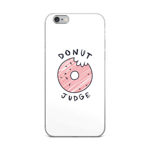 donut judge mobile cover