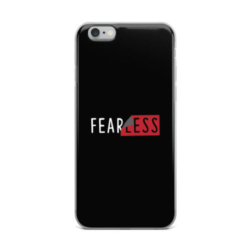 fearless dark mobile cover
