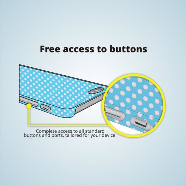 freely access buttons
