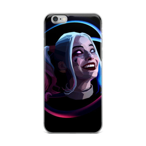 harley quinn abstract art mobile cover