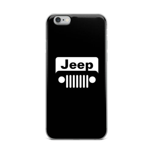 jeep logo minimal mobile cover