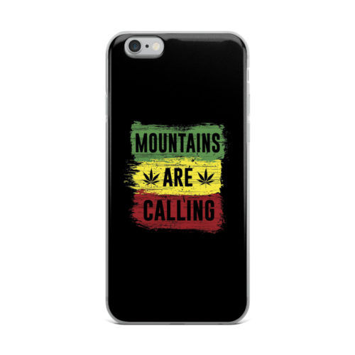 mountains are calling mobile cover