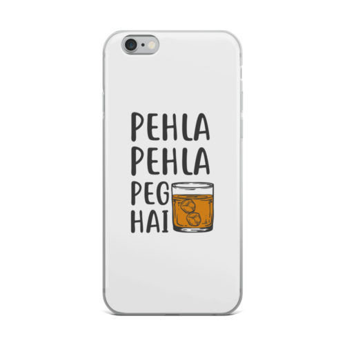 pehla pehla peg hai mobile cover